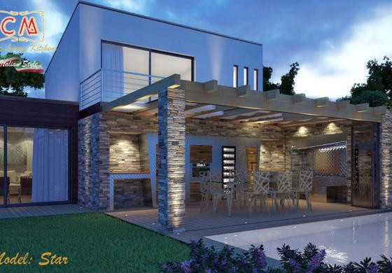 Arredamento di design per case di super lusso
